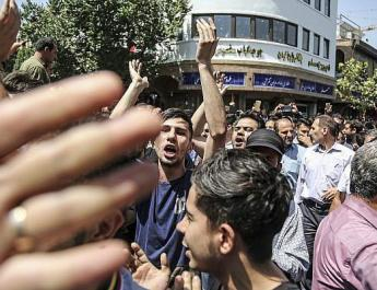 ifmat - Whered your money go Liberman asks Iranian protesters