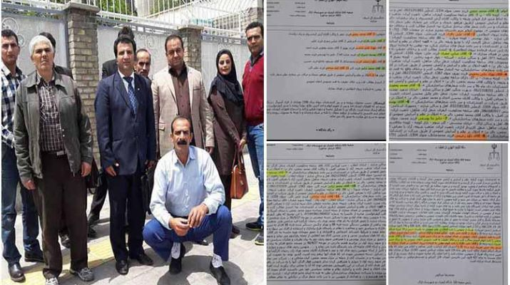 ifmat - Detained Iranian protesters sentenced to prison and lashes by the Iranian regime