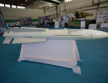 ifmat - Iran starts mass production of air to air missile