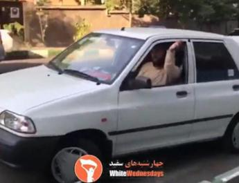 ifmat - Iranian man threatens woman for not wearing a hijab