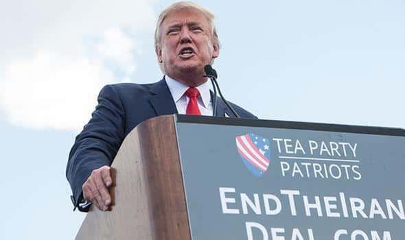 ifmat - Donald Trump says Iranian Regime may collapse because of his policies