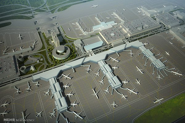 ifmat - France and Italy to help Iran Airports Company build new airports