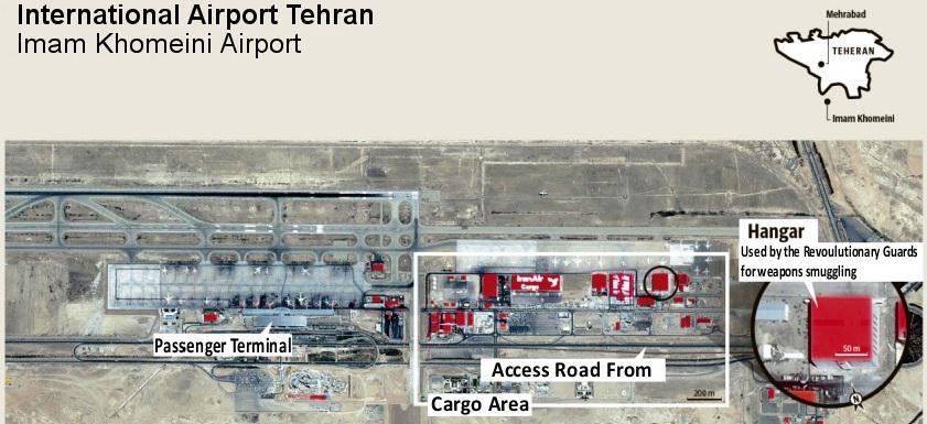 ifmat - Iran Khomeini Airport IRGC hangar