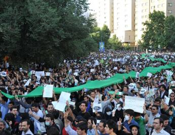ifmat - Iranian protests show potential for regime change