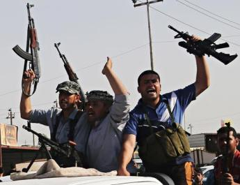 ifmat - Iraqi fighters are deployed to Syria from Iran