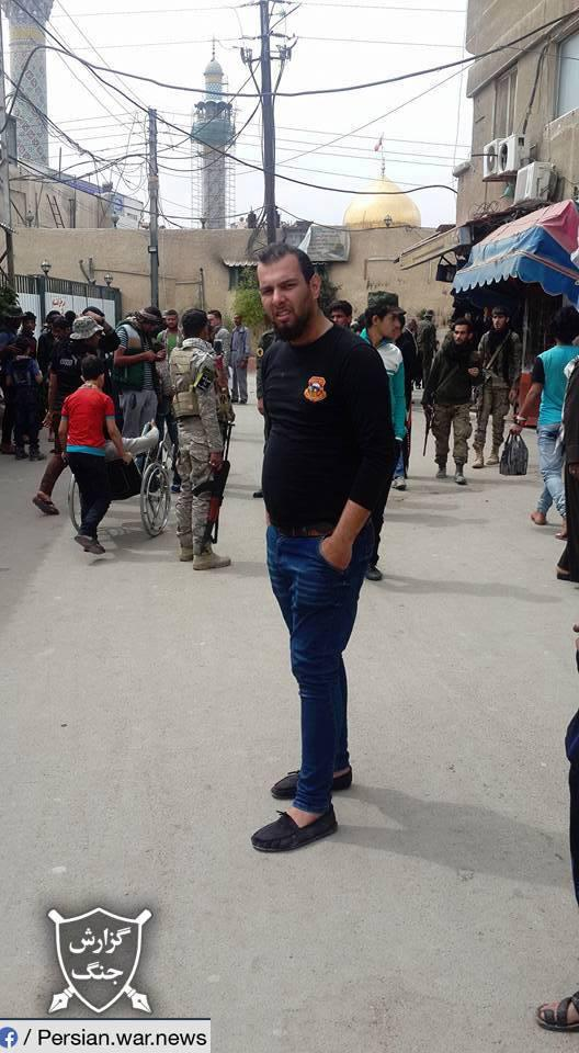 ifmat - Iraqi fighters are deployed to Syria from Iran7
