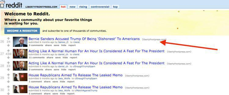 ifmat - Reddit users shared thousands of links from fake Iranian news sites1