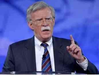 ifmat - US national security advisor calls for maximum pressure on Iran