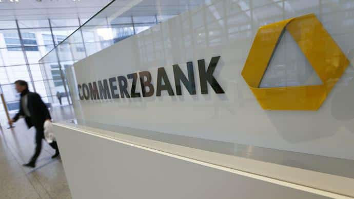 Commerzbank fined 15bn for doing business with sanctioned Iran and Sudan