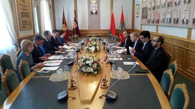 ifmat - Iran, Belarus discuss expansion of cooperation