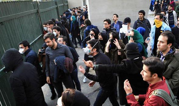 ifmat - Iranian protesters Dictators get out