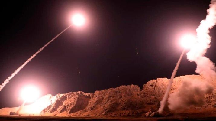 ifmat - Coalition troops were at risk from Iranian ballistic missiles fired in Syria