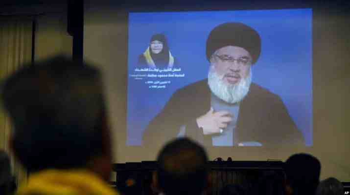 ifmat - Iran-backed Hezbollah sanctioned by US Senate