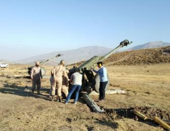 ifmat - Kurds accuse IRGC of targeting their lands in military exercises