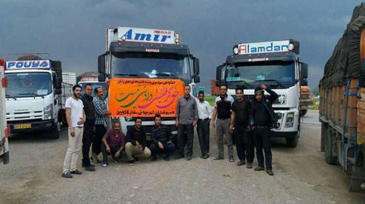 ifmat - Striking truck drivers in Iran threatened with death penalty
