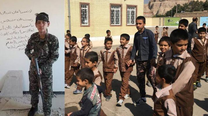 ifmat - US punishes Iran for recruiting child soldiers