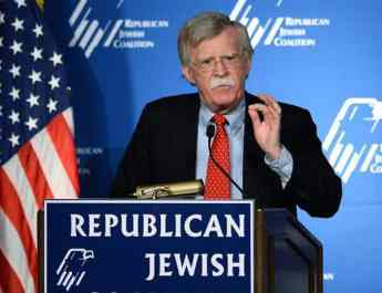 ifmat - Bolton praises UAE for support on Iranian regime