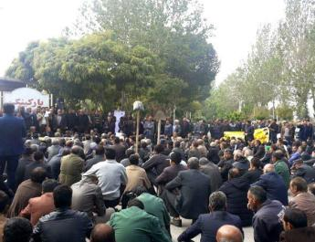 ifmat - Farmers protest in Iran for three months