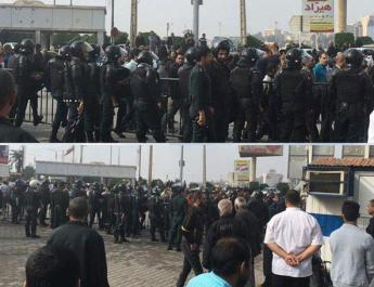 ifmat - Iran Regime officials are terrified of striking workers in Iran