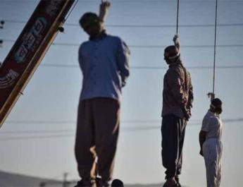 ifmat - Iran publicly hangs three men in Shiraz
