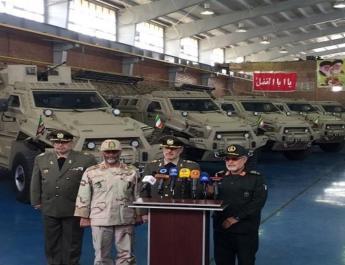 ifmat - Iran unveils anti-mine armored military vehicle