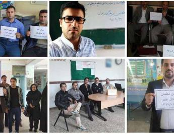 ifmat - Teachers detained in Iran for protesting about unpaid wages