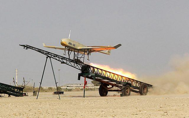 ifmat - Iran building a drone force based on captured US, Israeli tech