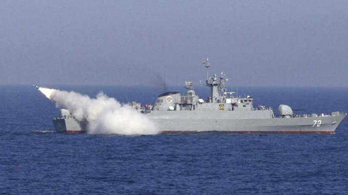 ifmat - Iran conducts military drills near Strait of Hromuz