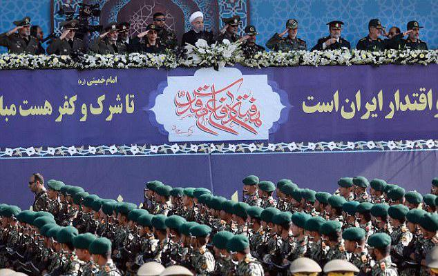 ifmat - Iran dispatched patrol of Basij forces in order to create fear