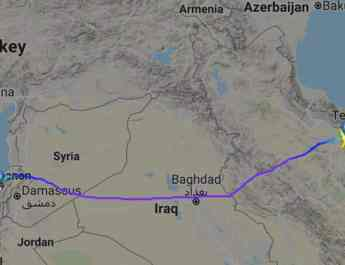 ifmat - Iranian plane transfers weapons to Hezbollah