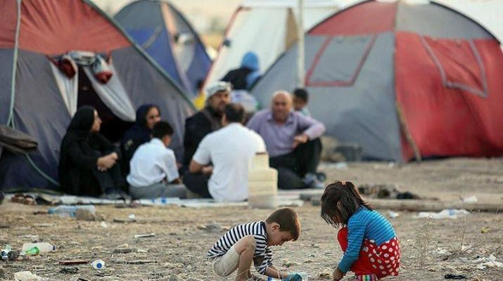 ifmat - Regime spends millions on terrorism while thousands of Iranians lives in tent cities