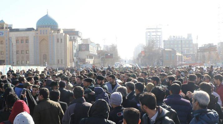 ifmat - Anti-regime protests spread all over Iran