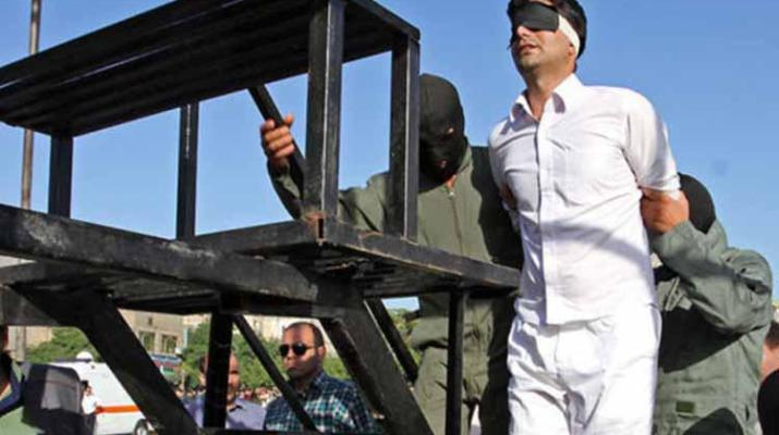 ifmat - Iran regime publicly executes man on sodomy charges