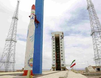 ifmat - Iran regime spreads fear by launching Ballistic Missile technology into space