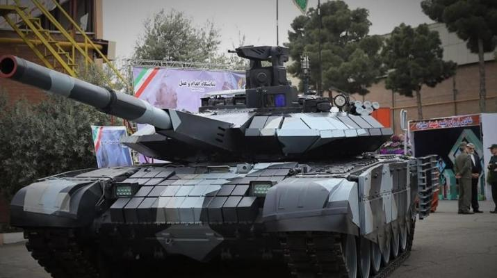 ifmat - Iran regime threatens with a new tank