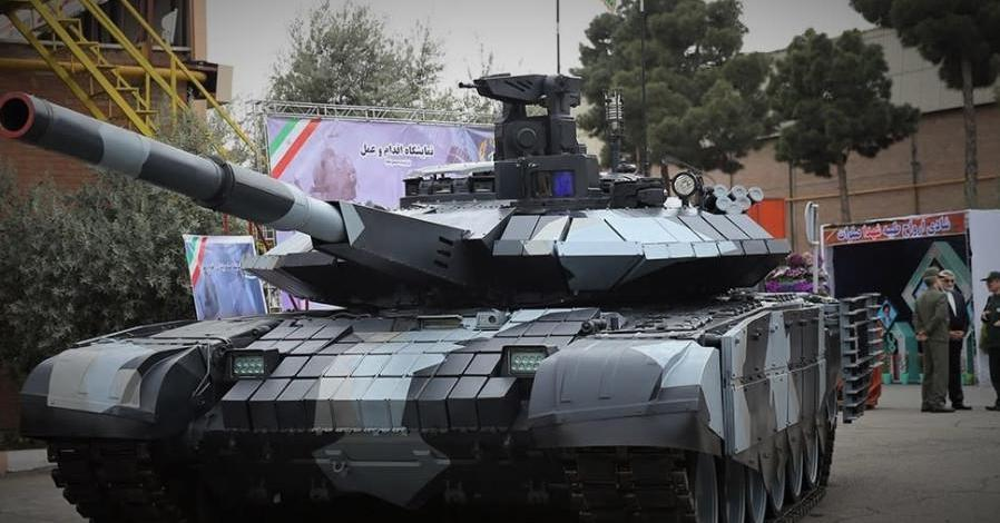 Iran regime threatens with a new tank