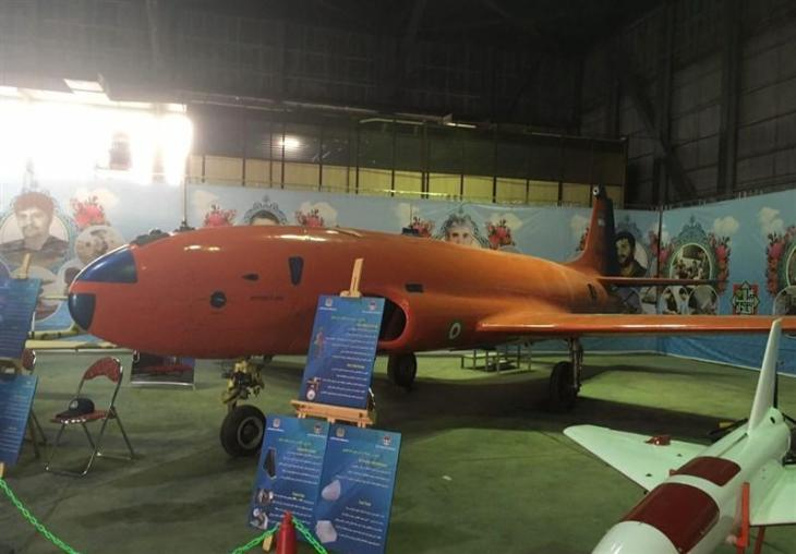 ifmat - Iran regime unveils wide-body umanned jet1