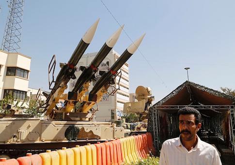 ifmat - Iranian TV shows missiles striking popular tourist landmarks across the world