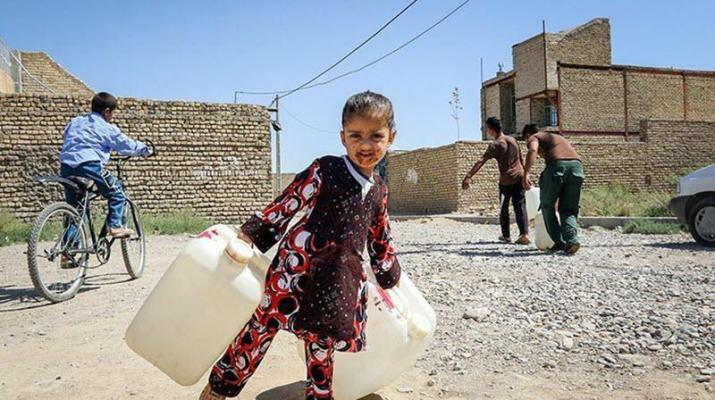 ifmat - Lack of access to clean water in Iran