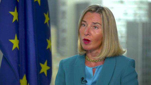 ifmat - Mogherini supports regime nuclear deal despite Iran involvement in terrorism