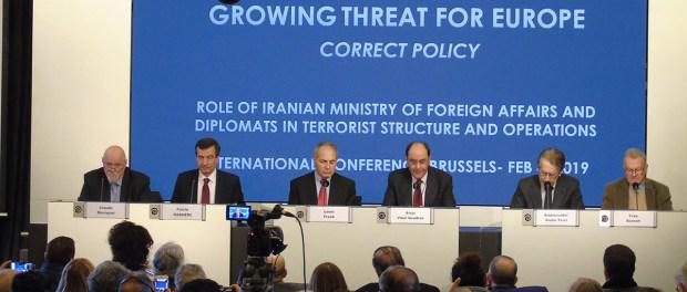 ifmat - Conference in Brussels highlights Iranian state-sponsored terrorism