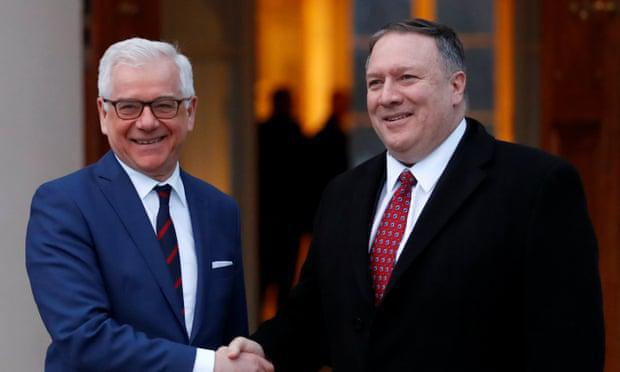 ifmat - European powers supports evil Iran regime and keep distance at Warsaw summit