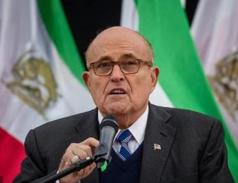 ifmat - Giuliani calls for overthrow of Iran regime