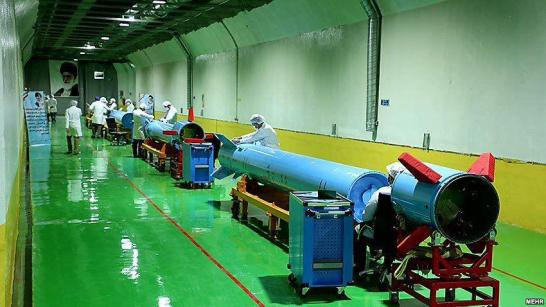 ifmat - IRGC Commanders reveal underground ballistic missile factory2