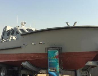 ifmat - Iran unveils new catamaran capable of firing cruise missiles6