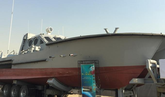 ifmat - Iran unveils new catamaran capable of firing cruise missiles6