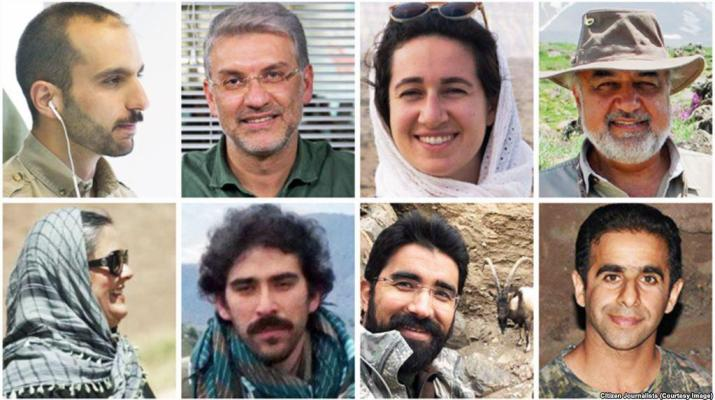 ifmat - Iranian intelligence reportedly making film against jailed environmentalists