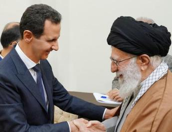ifmat - Syria Assad meets Iran Supreme Leader in Tehran