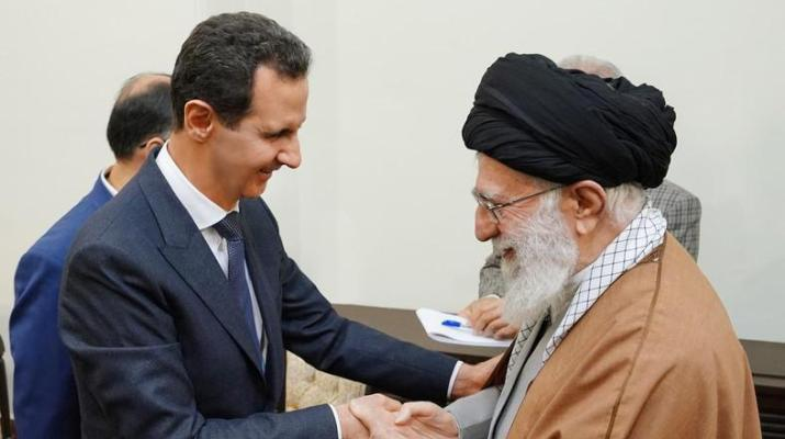 ifmat - Syria Assad meets Iran Supreme Leader in Tehran
