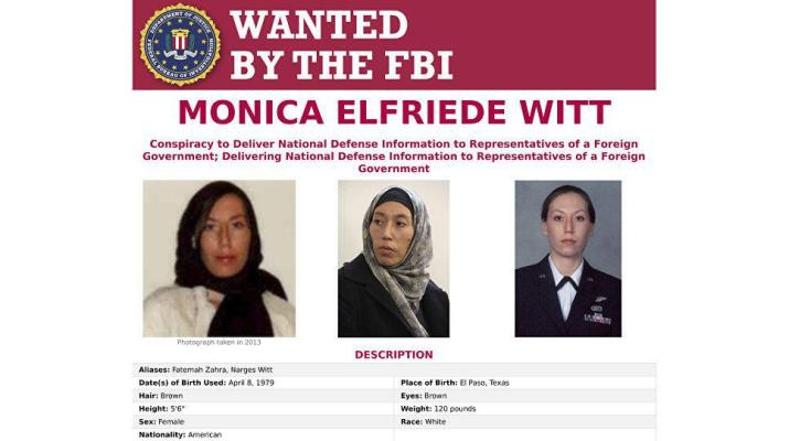 ifmat - US officer charged with spying for Iran daicalised at US college